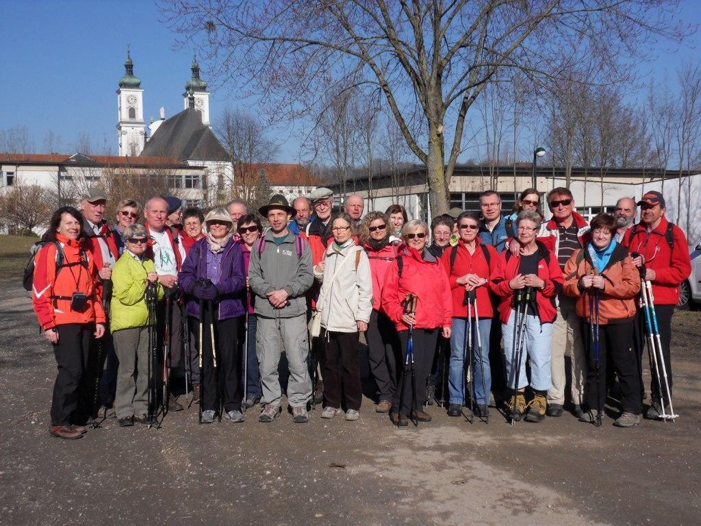 28 Wanderfreunde nahmen teil