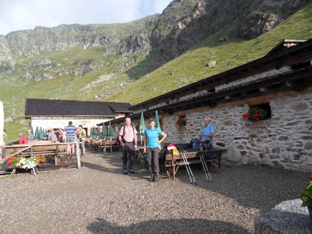 2.8.2012: Schutzhütte Oberkaser (2.131 m)