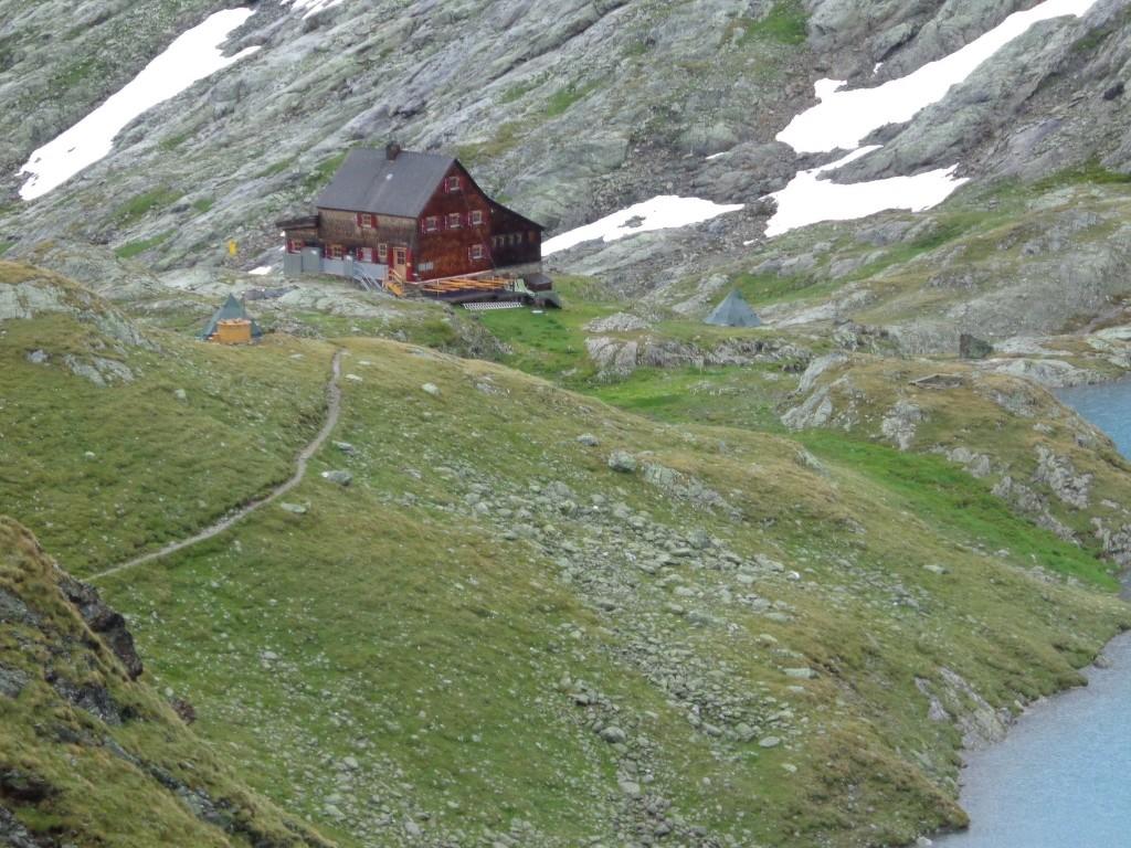 2. Nächtigung auf der Adolf Noßberger Hütte (2.488 m)