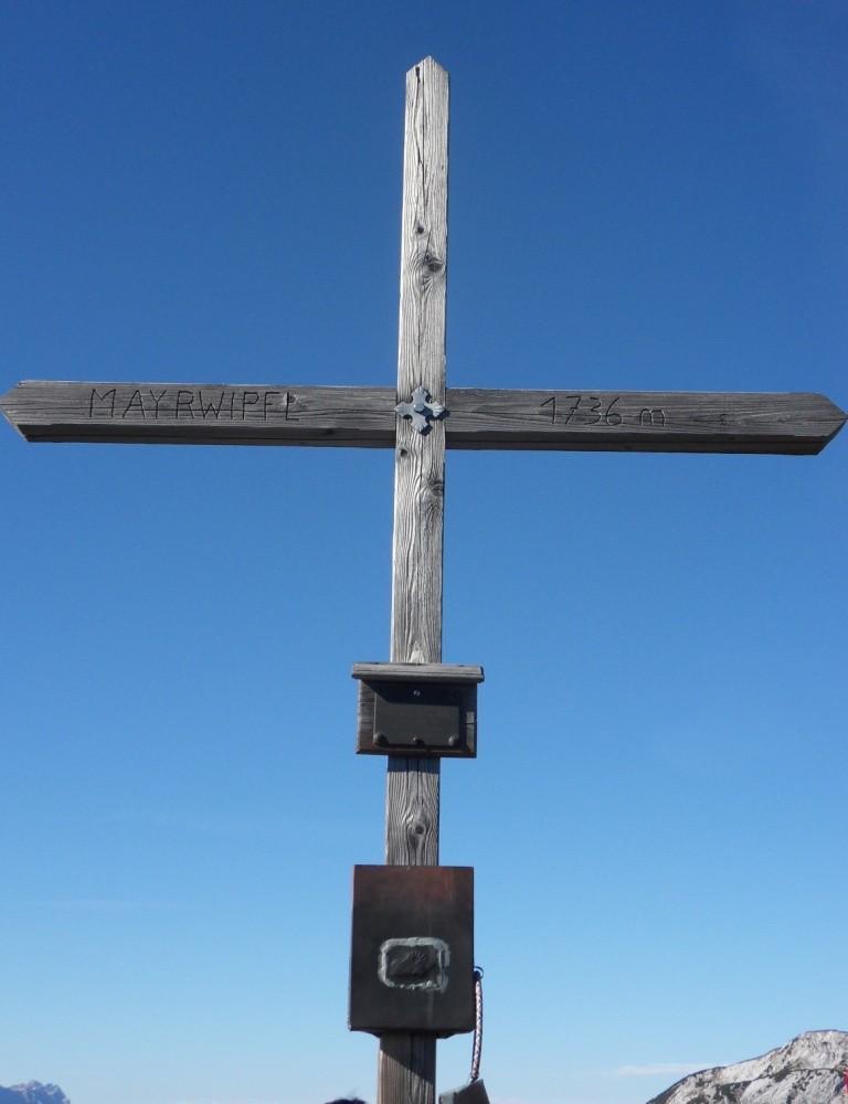 Gipfelkreuz Mayrwipfl