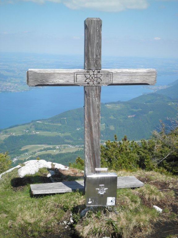 Brennerin Gipfelkreuz