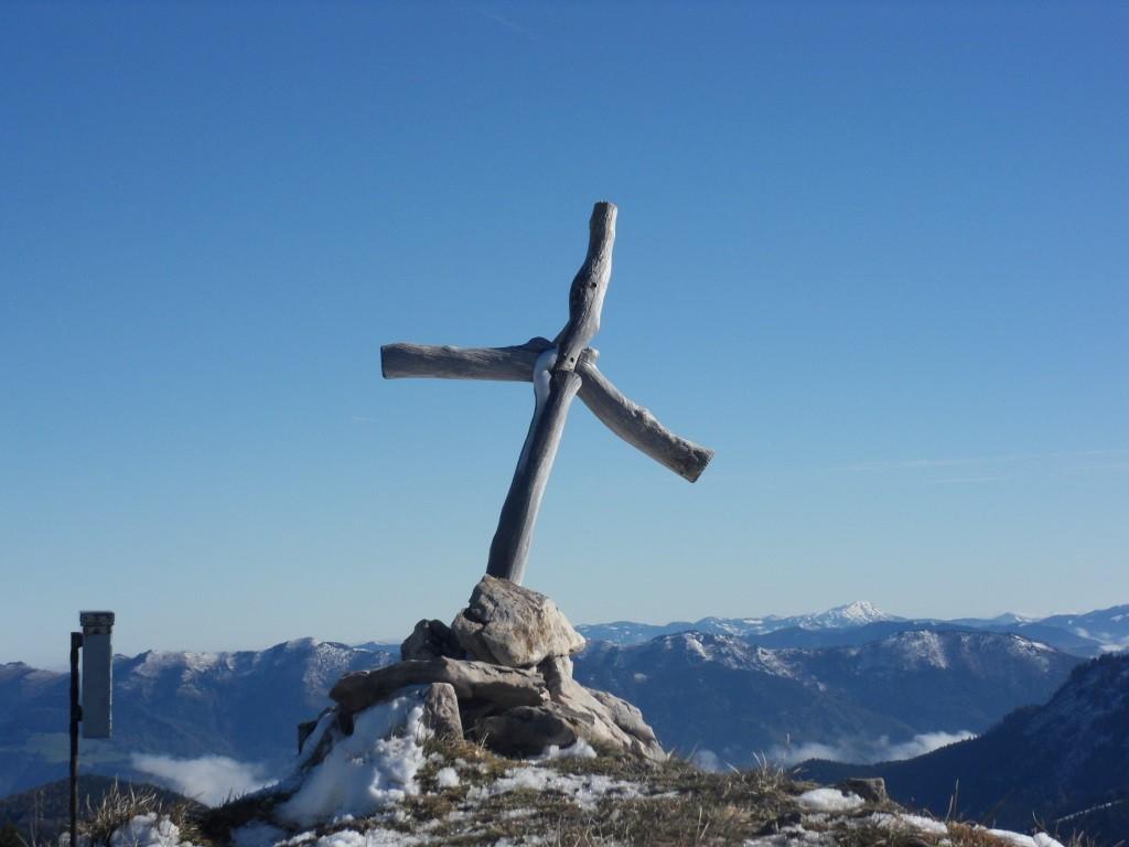 Rotgsol-Gipfelkreuz 1.560 m