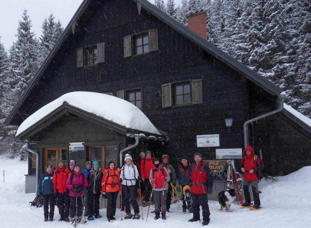 Einkehr Bosruckhütte 1.043 m