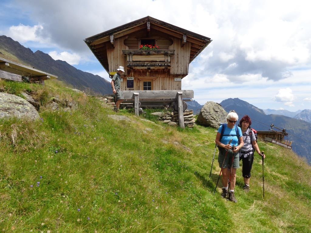 Trinkpause Seduck Hochalm 2.249 m