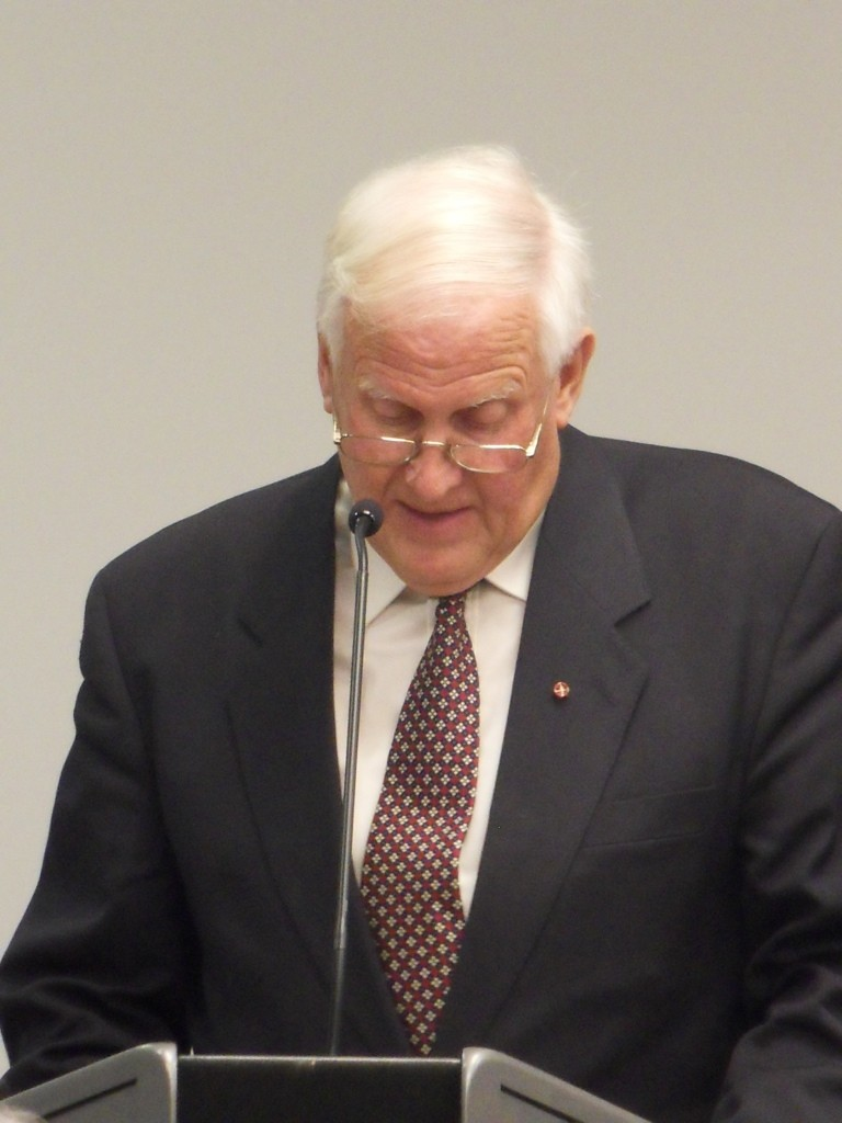 WW-Vorsitzender Fritz Käfer