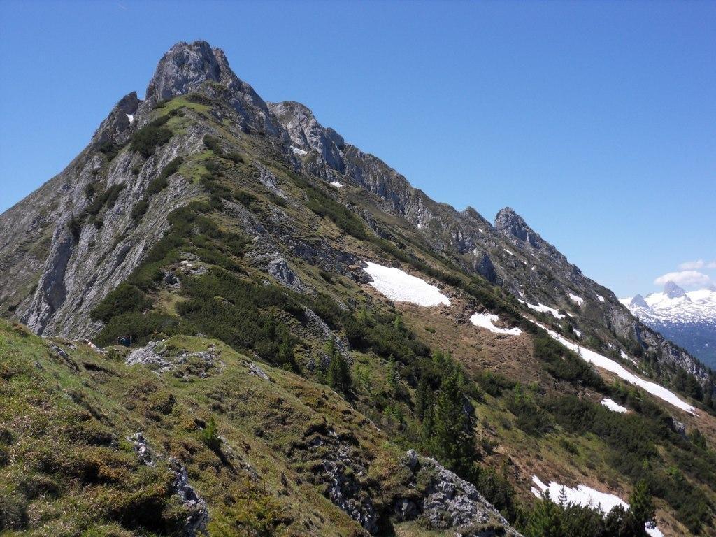 nochmals ein Rückblick zum Gipfel