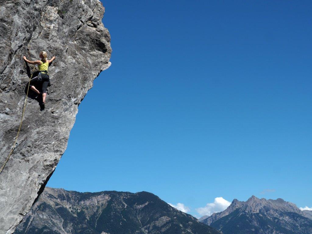 """""""Klettern im Val Duance"""" von Mag. Peter Sykora"""
