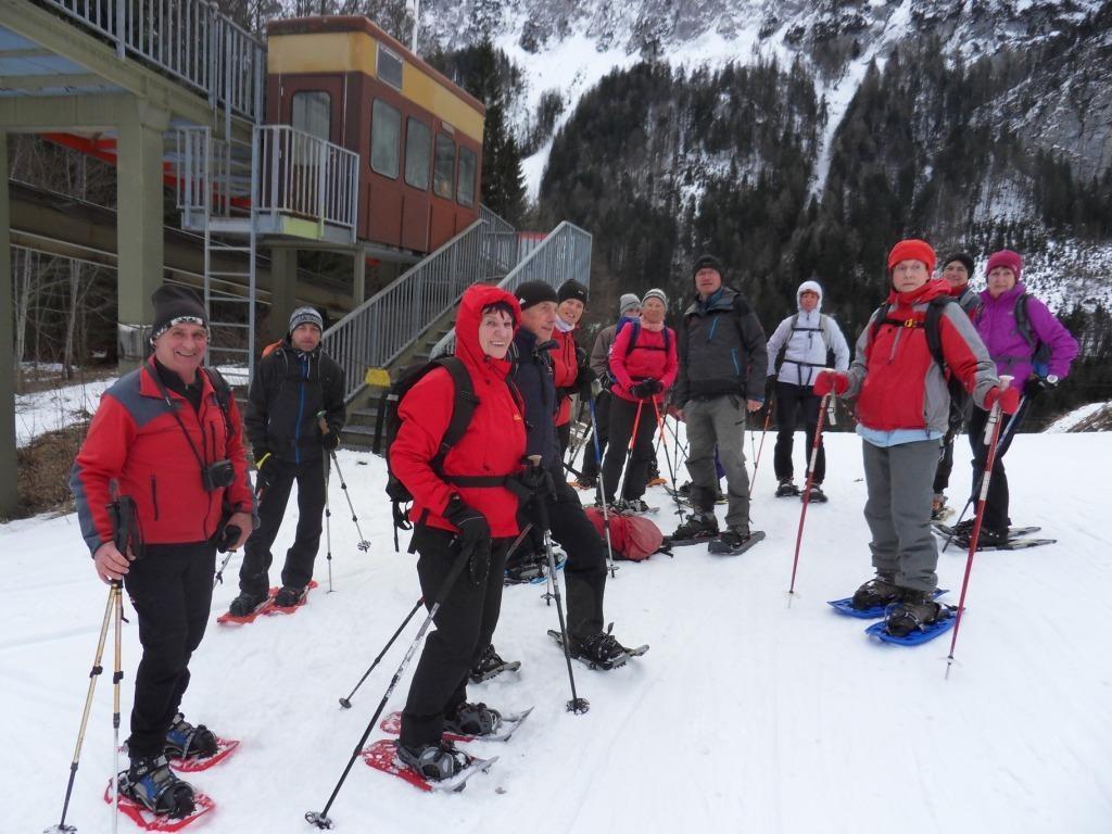 Aufstieg zur Bergstation