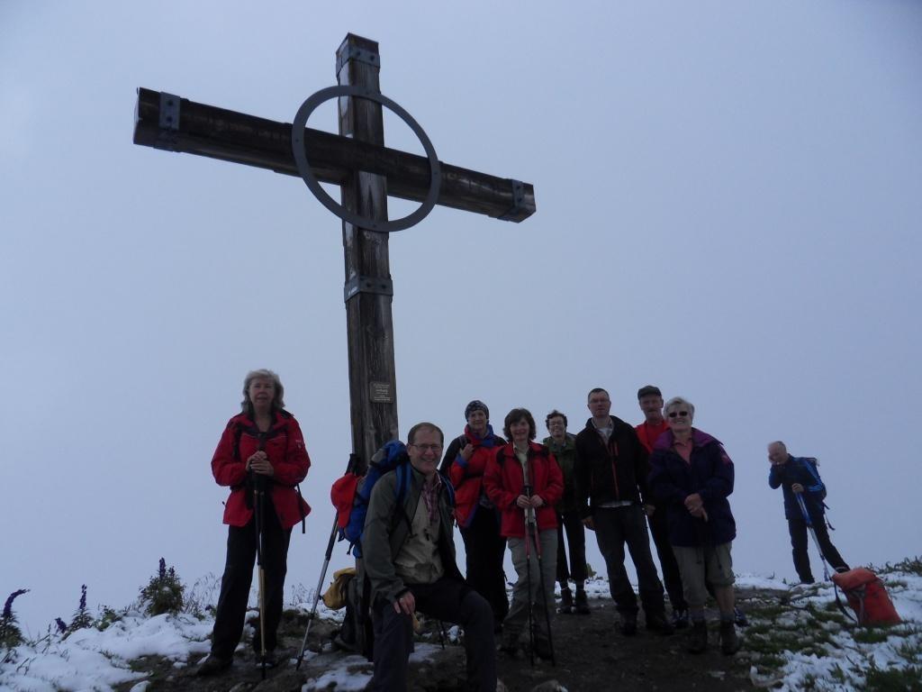 10.8.2011: Geißspitze (2.334 m)