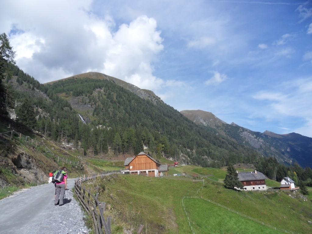 Weg zur Sticklerhütte