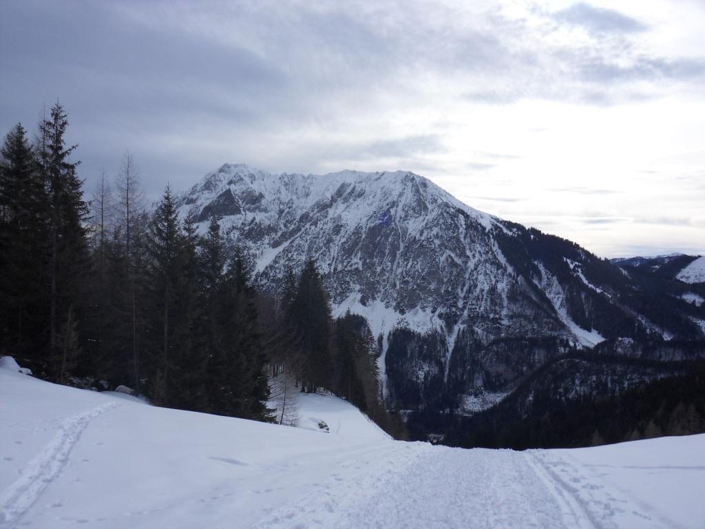 Blick zurück zum Bosruck 1.992 m