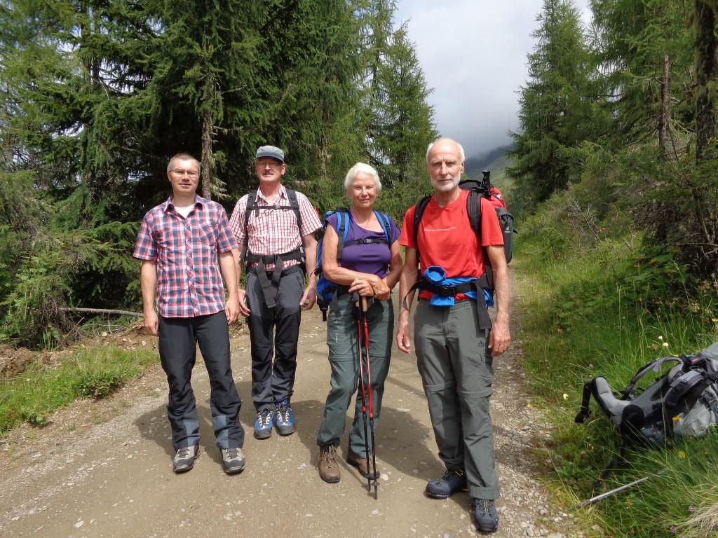 Start beim Parkplatz Winklerner Hütte (1.905 m)