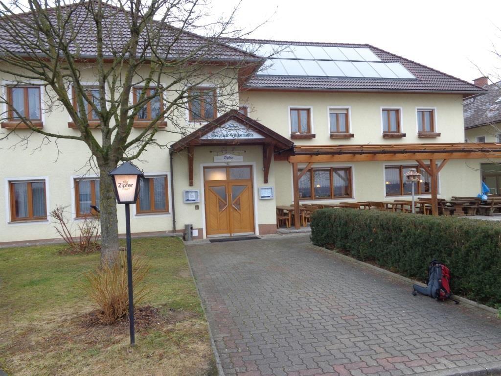 """Einkehr im GH """"Zum Wimmerwald"""""""