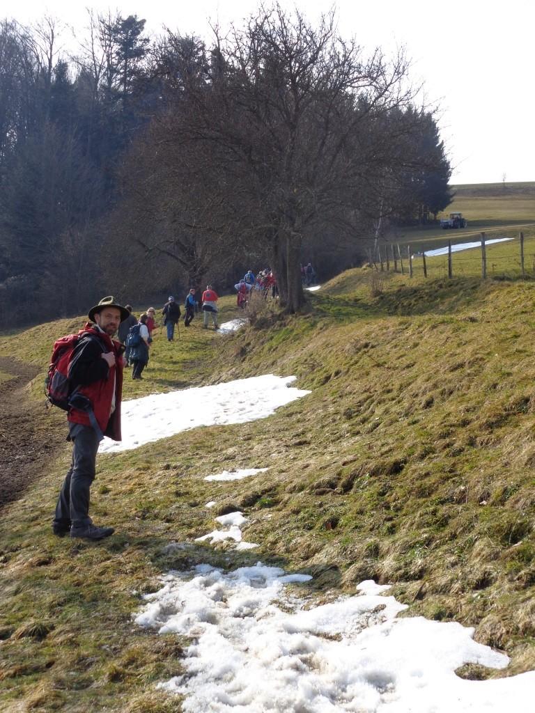 Aufstieg am Weitwanderweg 09 (Salzsteigweg)