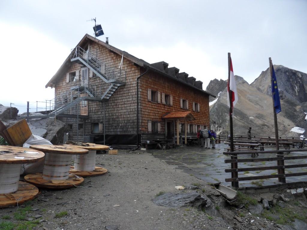 2.8.2012: Nächtigung Stettinerhütte (2.875 m)