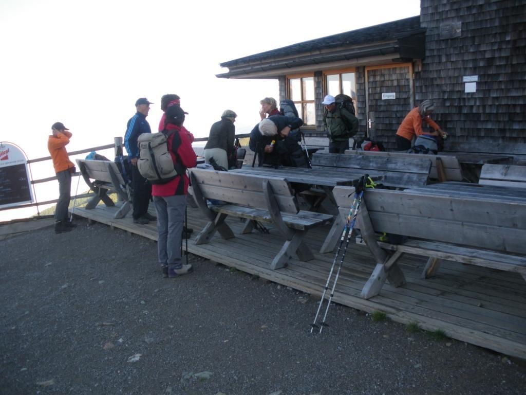 Start bei der Sillianer Hütte 2.447 m