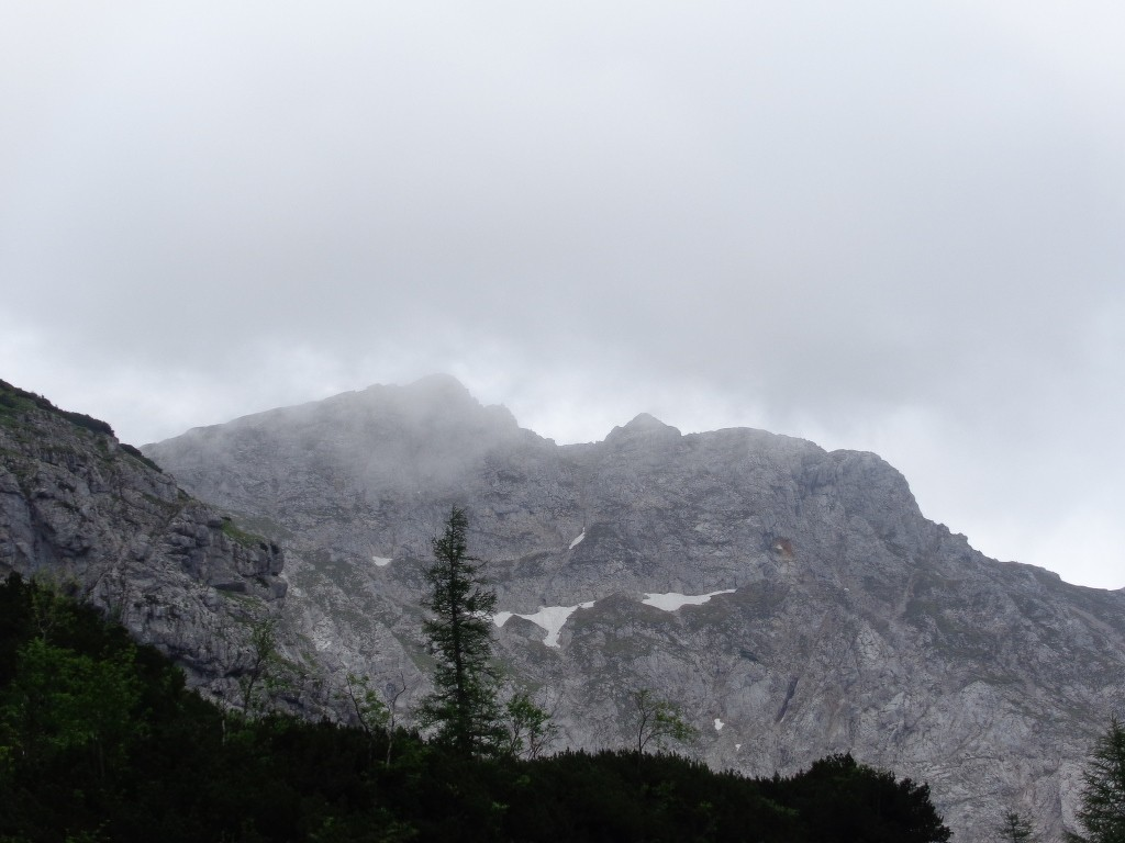 Blick auf Langstein 1.998 m und Kreuzmauer 2.021 m