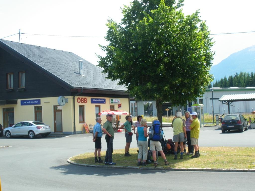 Treffpunkt Bahnhof Kötschach