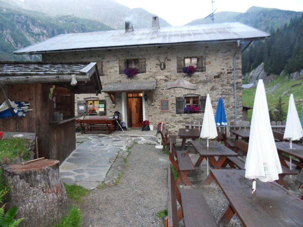 1.8.2012: Aufstieg zur Bockerhütte (1.700 m) und Nächtigung