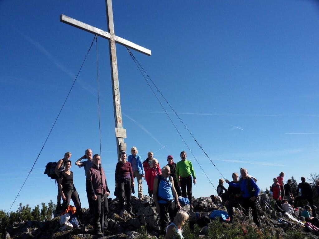 Zwillingskogel-Gipfel 1.402 m