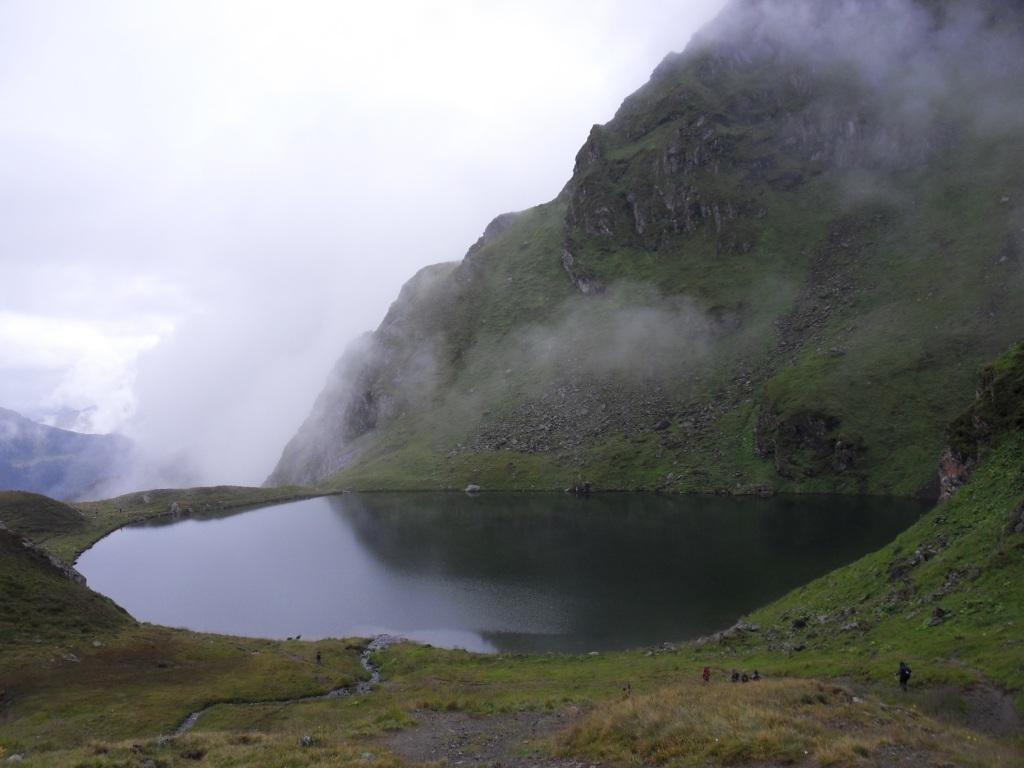 9.8.2011: Abstieg über Seenrunde (Herzsee)
