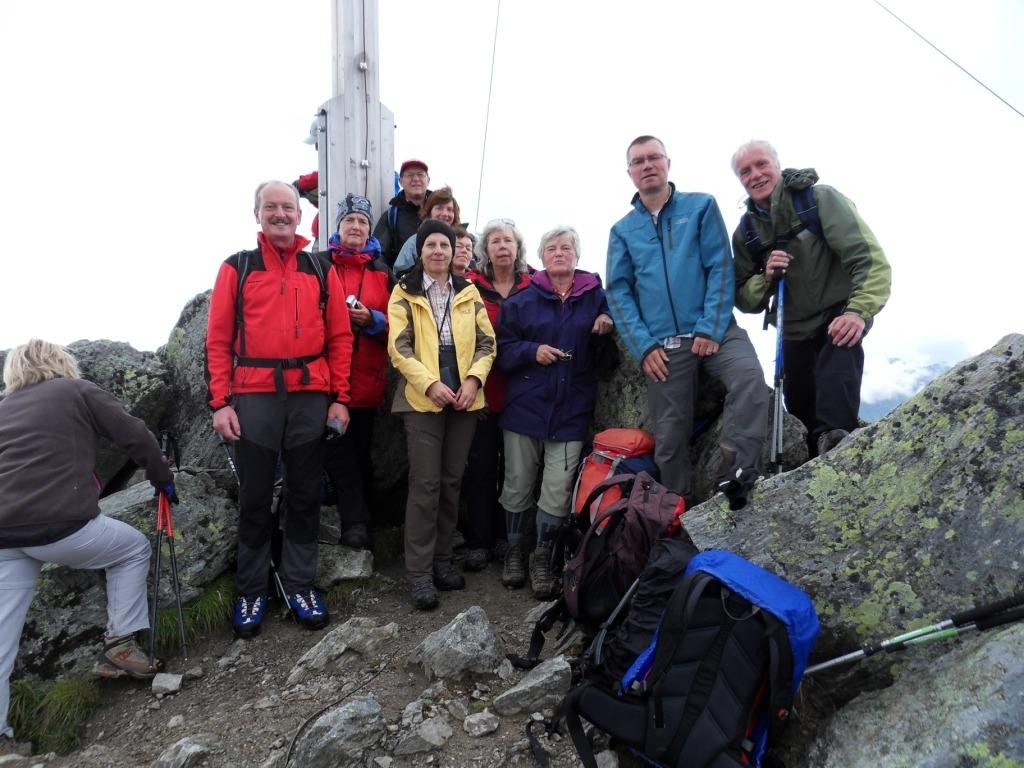 9.8.2011: Zamangspitze (2.386 m)