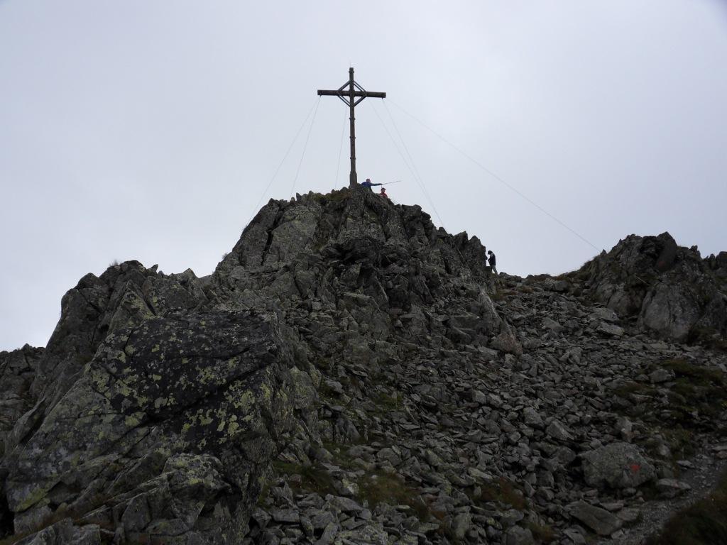 9.8.2011: Kreuzjoch (2.398 m)