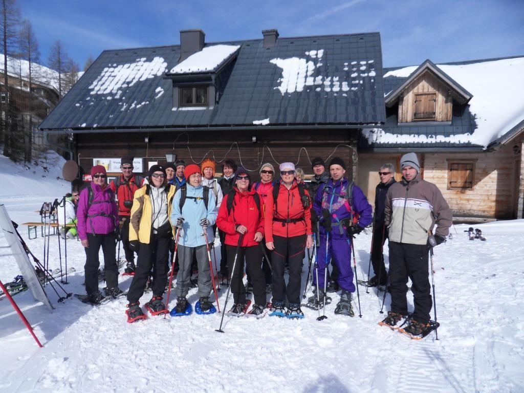 Einkehr bei der Wiederlechnerhütte (Bergstation) 1.427 m