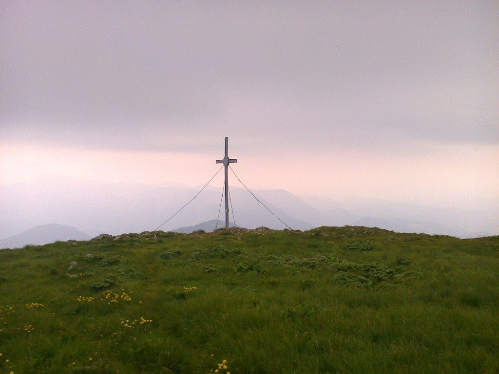 Gipfelkreuz Gr. Ötscher
