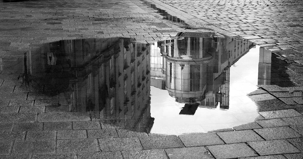 """""""Spiegelung"""" von Kurt Oberhumer"""
