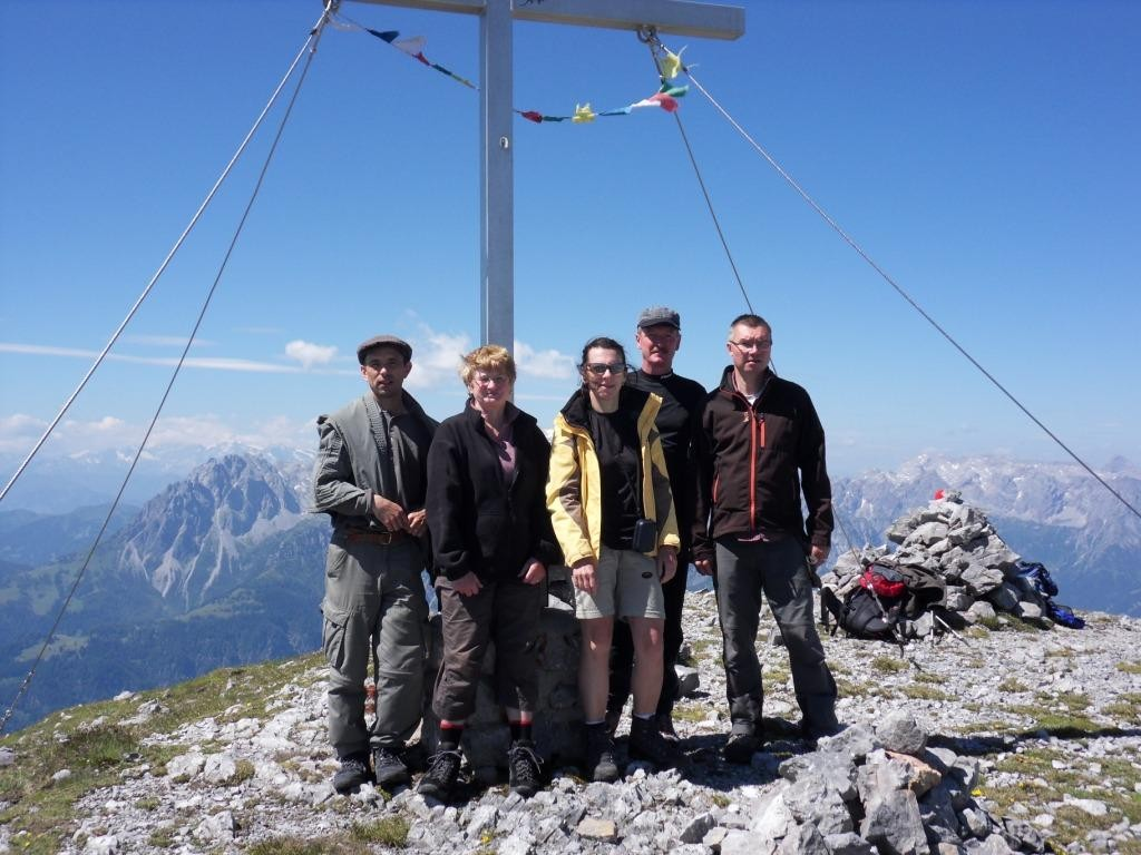 9.7.2011: Raucheck (2.431 m)