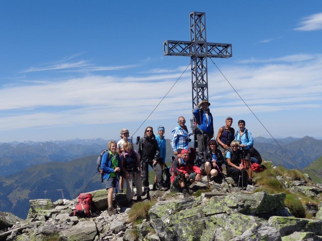 Gipfelkreuz Gr. Grießstein 2.337 m