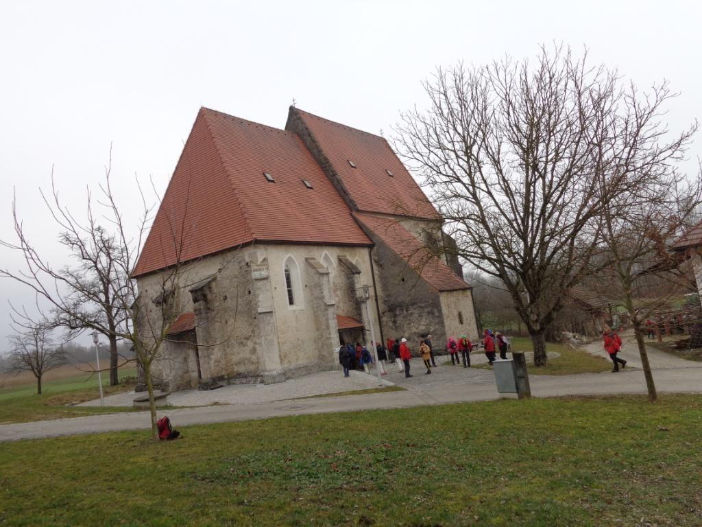 turmlose Kirche von Kanning