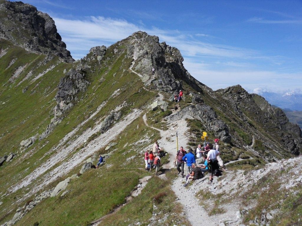 12.8.2011: Wanderung zum Riedkopf (2.552 m)