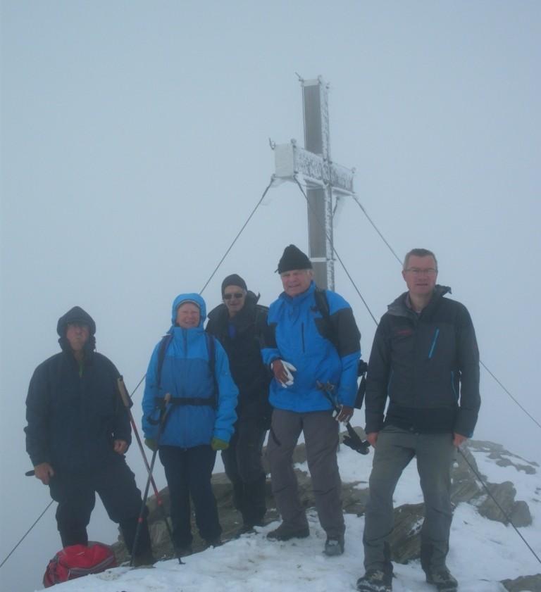 Schareck-Gipfel 3.123 m