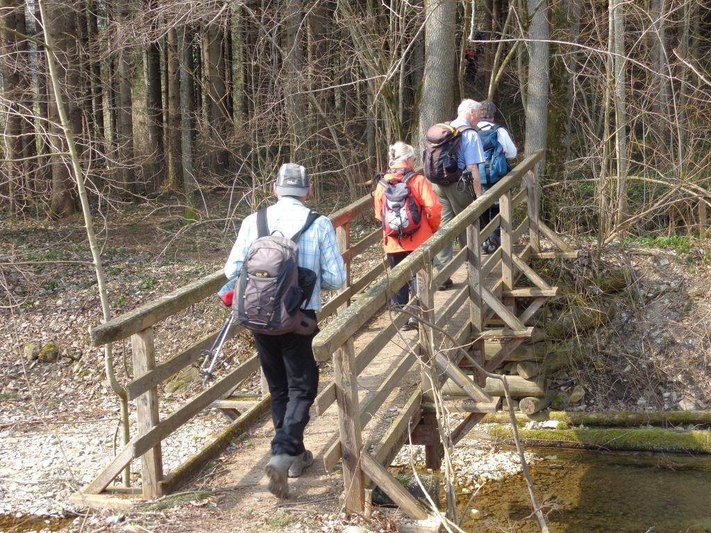 Brücke über den Färberbach