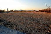 県が提案した焼却灰保管の候補地=手賀沼終末処理場