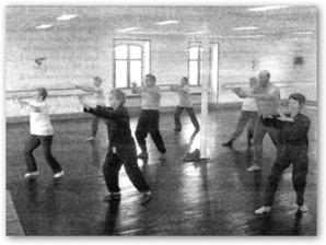 Salle de danse idéale pour les séniors du Tai Chi à La Souterraine.