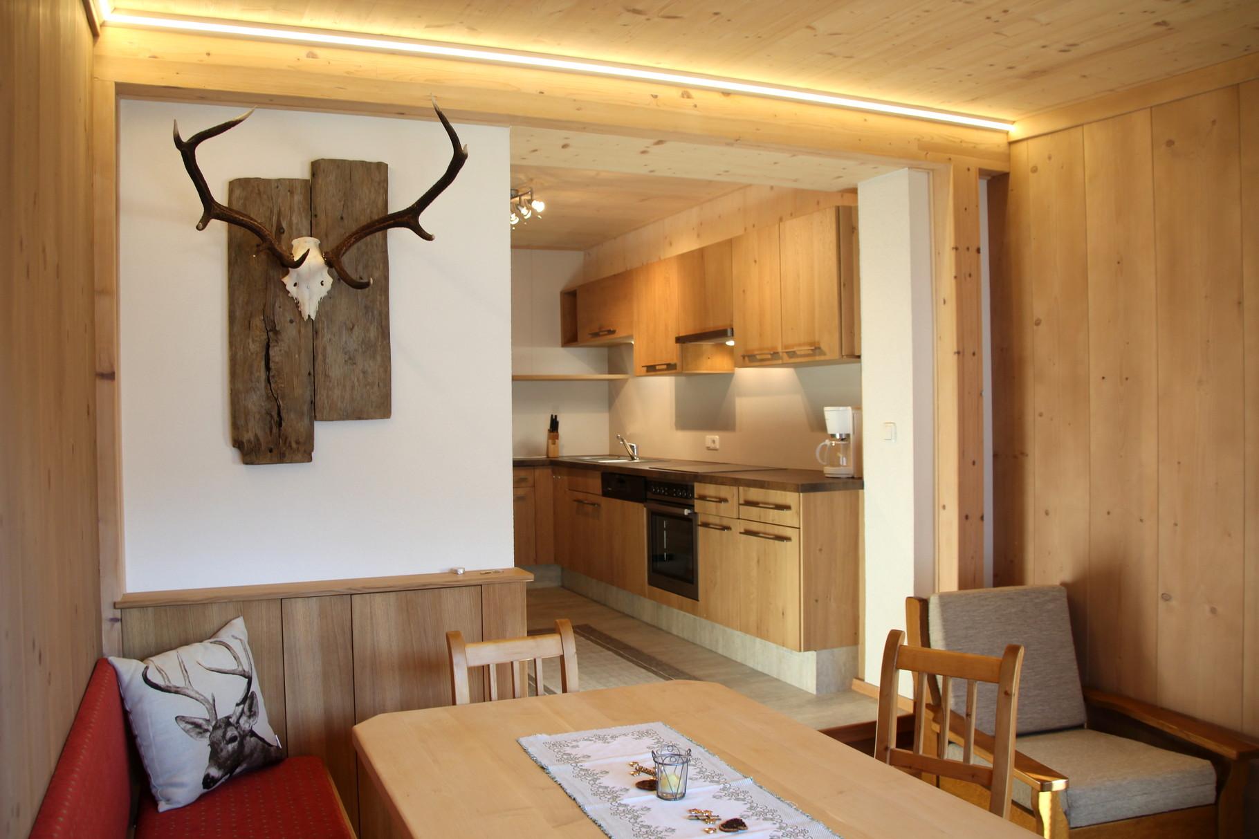 Kitchen Apartment Donnerkogel   ©Christine Bleisch