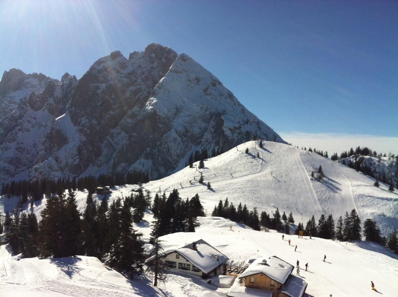 Skigebiet Dachstein West  ©Christine Bleisch