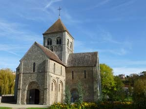 Domfront en Poiraie, église Notre-Dame-sur-l'Eau
