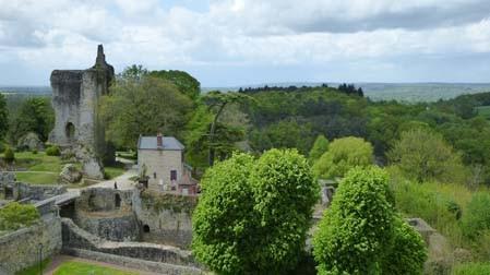Domfront, cité médiévale, normandie, orne : le donjon