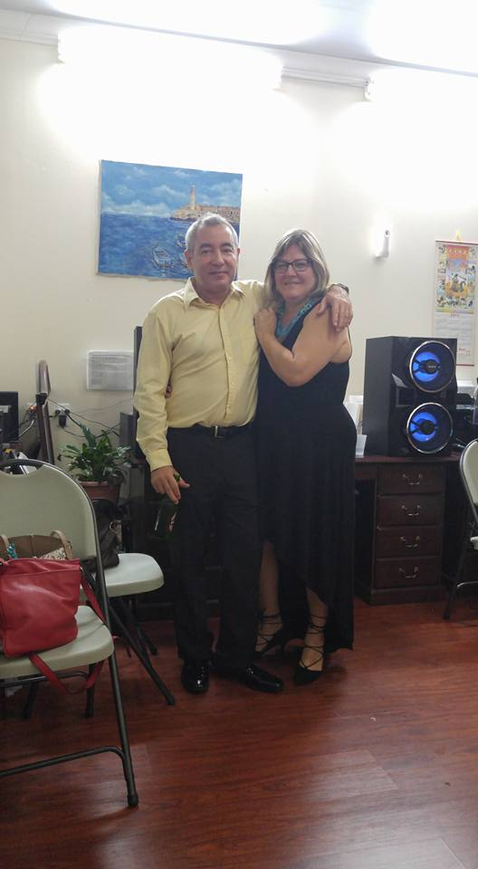 Jorge Ojeda y Cristy Ensenat en la fiesta de fin de la Temporada 2015 (20 de abril de 2016)