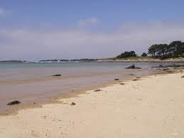 La plage des Flots Bleus à Pleumeur-Bodou