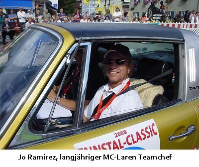 Jo Ramirez (MC Laren Teamchef)