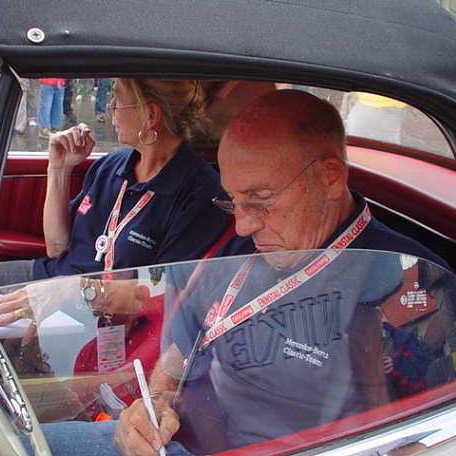 Stirling Moss (4-facher F1 Vizeweltmeister)