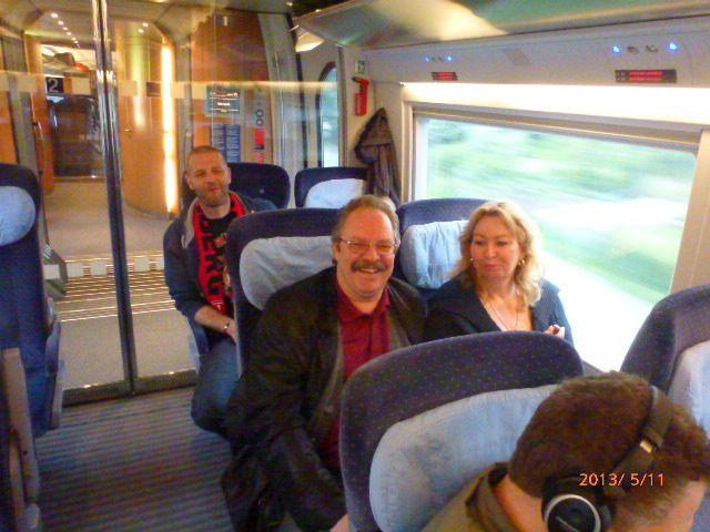 Familienausflug nach Düsseldorf vom 11.05. - 12.05.2013