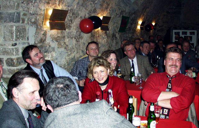 25 Jahre Club-Fans Veitshoechheim       Festkommers am 31.03.2001