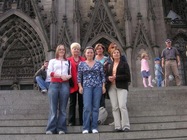 Frauenausflug nach Köln vom 22. - 23.09.2007