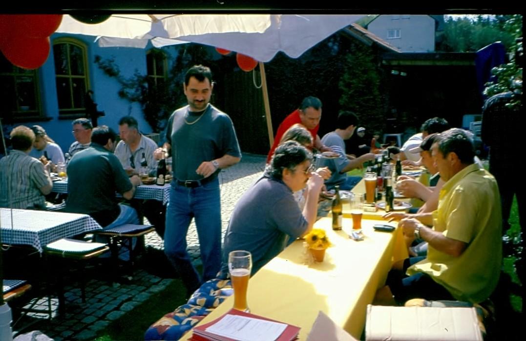 1. Mai 2001   bei Familie Kress